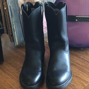 447454e0605 Frye Duke Roper Boots. Men's Sz 7M/women's Sz 9M